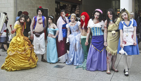 Disney Zombies Cosplay