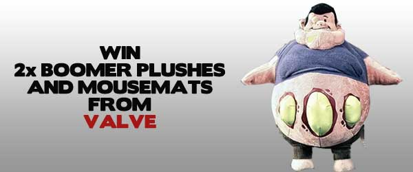 WIN: 2x Plush Boomers And Mousemats From Valve