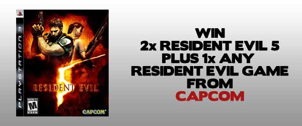 WIN: 2x Resident Evil 5 And Any Resident Evil Game Of Your Choice