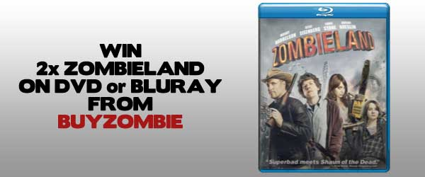 WIN: 2x Zombieland on DVD or Bluray From Buy Zombie