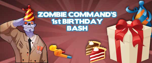 Zombie Command Is 1 Year Old!