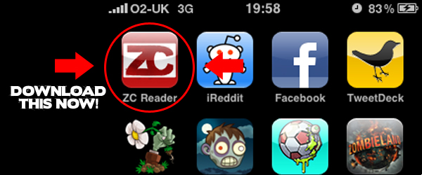 Zombie Command Launch iPhone App