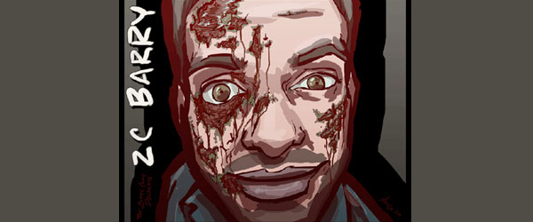 The Zombie Comic – ZC Barry Gets Zombified… Again