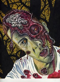 Zombie Portraits Become A Zombie   Zombie Pictures