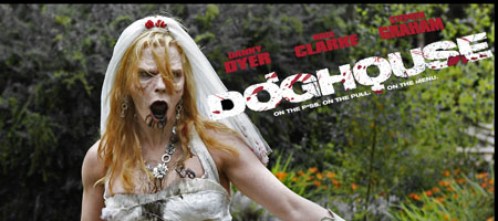 bride in garden copy Doghouse Trailer and Preview
