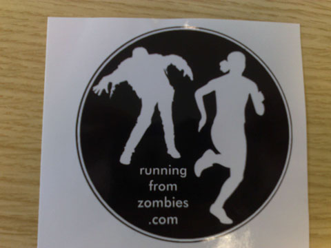 running from zombies1 Zombie Swag