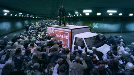 Dead Rising Car Park La Horde Trailer