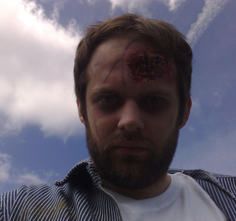 ZC Barry zombified My Day As A Zombie Extra   Invasion Of The Not Quite Dead