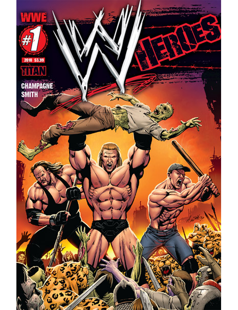 Wrestling Zombies