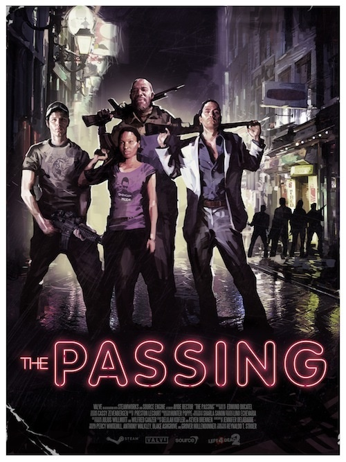 the passing Left 4 Dead 2 DLC   The Passing   Poster