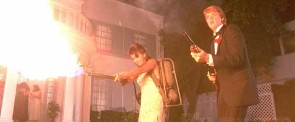 flamethrower Top 10 Craziest Weapons From Zombie Movies