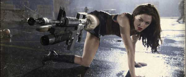 leg gun Top 10 Craziest Weapons From Zombie Movies