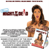 snotd comp WIN: Stag Night Of The Dead DVD And Signed Poster