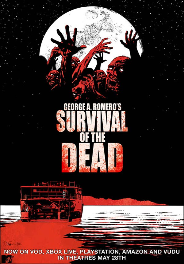 survival poster Survival Of The Dead Poster By Charlie Adlard