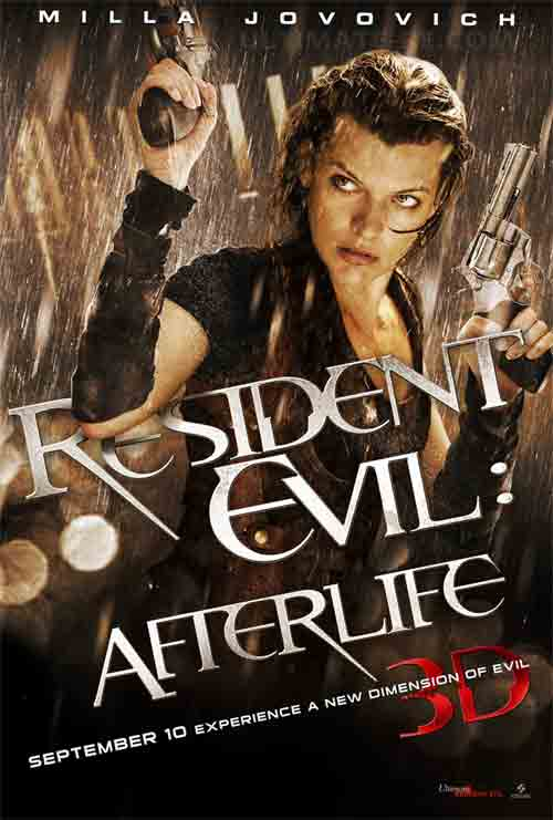 resident evil afterlife poster Resident Evil Afterlife Poster