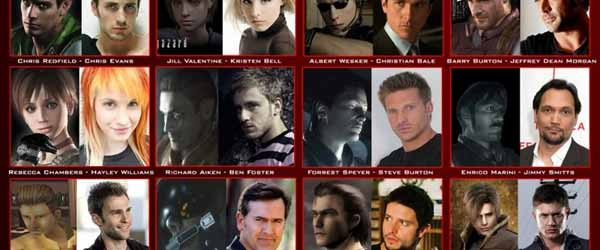 actors resident evil characters Which Hollywood Actors Look Like Resident Evil Characters